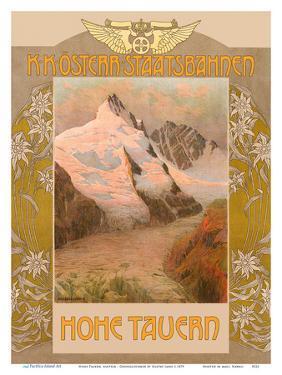 Hohe Tauern, Austria - Grossglockner Mountain - Austrian Railway by Gustav Jahn