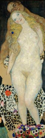 Adam and Eve, 1918 by Gustav Klimt