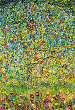 Gustav Klimt Apple Tree Art Print Poster