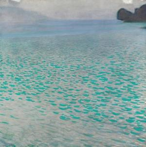 Attersee by Gustav Klimt