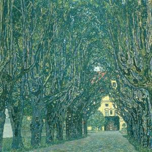 Avenue in the Park of Schloss Kammer, 1912 by Gustav Klimt