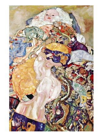 Baby by Gustav Klimt