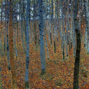 Beech Grove I by Gustav Klimt