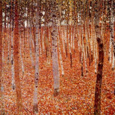 Beechwood Forest, 1903 by Gustav Klimt