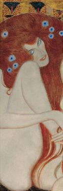 Beethoven Frieze (detail) by Gustav Klimt