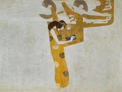 Beethovenfrieze, Allegory of Poetry by Gustav Klimt