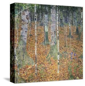 Birch Forest, 1903 by Gustav Klimt