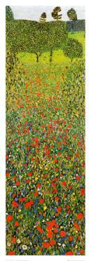 Campo Di Papaveri by Gustav Klimt