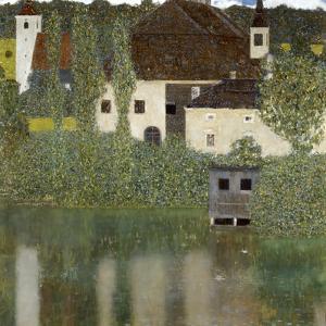 Castello Sul Lago Atter, (Castle Unterrach on the Attersee) 1908 by Gustav Klimt