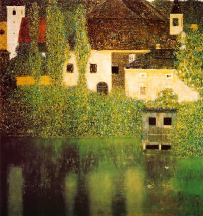 Castello Sul Lago Atter by Gustav Klimt