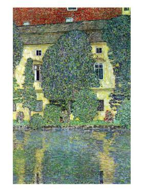 Castle At The Attersee by Gustav Klimt