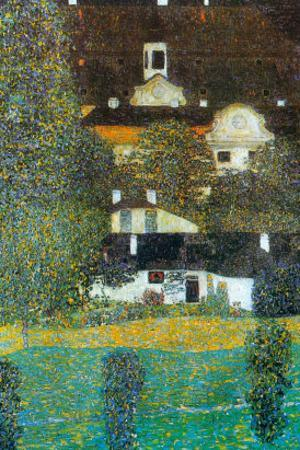 Castle Chamber At Attersee II by Gustav Klimt