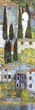 Chiesa a Cassone (detail) by Gustav Klimt
