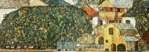 Church at Unterach by Gustav Klimt