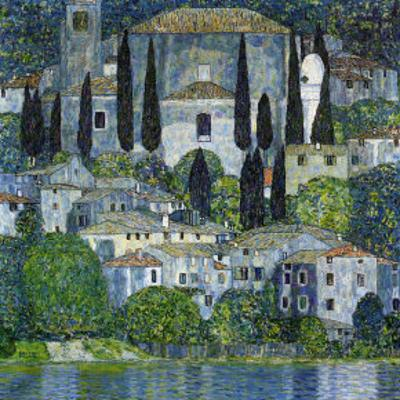 Church in Cassone by Gustav Klimt