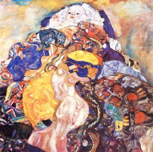 Cradle by Gustav Klimt