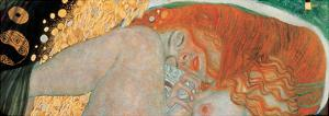 Danae (detail) by Gustav Klimt
