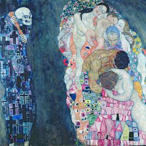 Death and Life, circa 1911 by Gustav Klimt