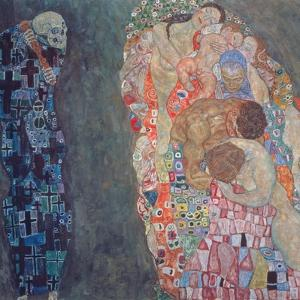 Death and Life, Completed in 1916 by Gustav Klimt