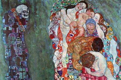 Death and Life by Gustav Klimt