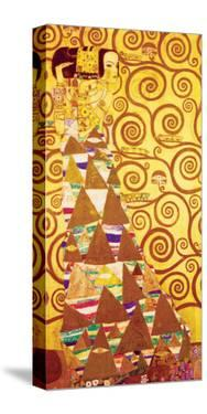 Die Erwartung by Gustav Klimt