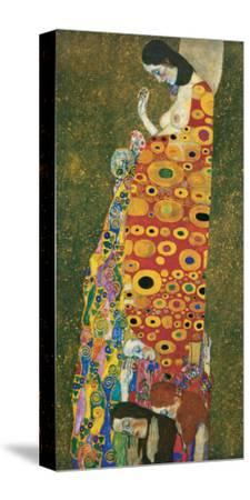 Die Hoffnung II by Gustav Klimt