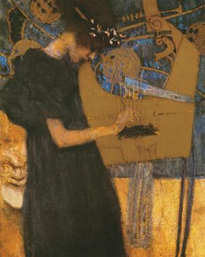 Die Musik by Gustav Klimt