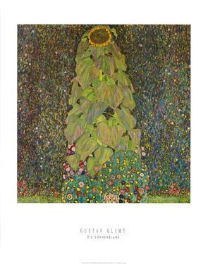 Die Sonnenblume by Gustav Klimt