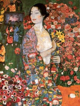 Die Tanzerin by Gustav Klimt