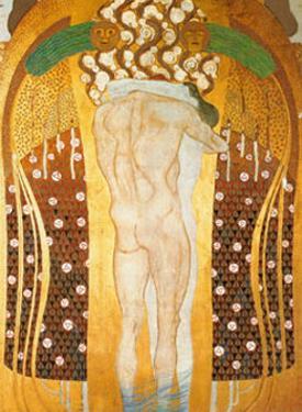 Diesen Kuss der Ganzen Welt by Gustav Klimt