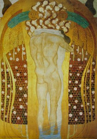 Embracement by Gustav Klimt