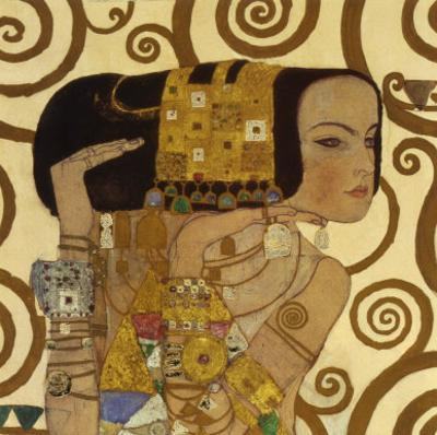 Expectation, Stoclet Frieze, c.1909 (detail) by Gustav Klimt
