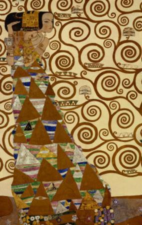 Expectation, Stoclet Frieze, c.1909 by Gustav Klimt