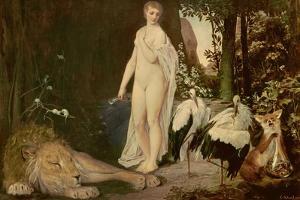 Fable, 1883 by Gustav Klimt