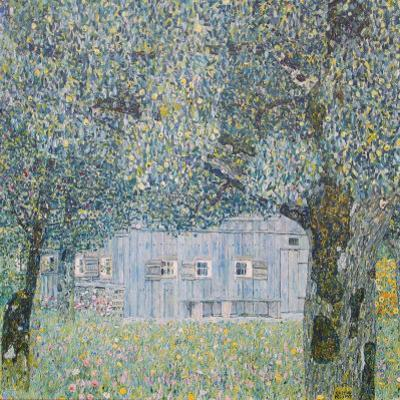 Farm at Oberoesterreich, 1911 by Gustav Klimt