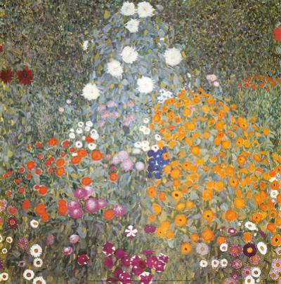 Farm Garden by Gustav Klimt