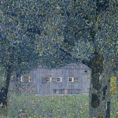 Farmhouse in Upper Austria by Gustav Klimt