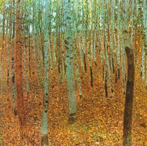 Forest of Beeches by Gustav Klimt