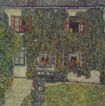 Forester's House in Waeissenbach at Attersee, 1912