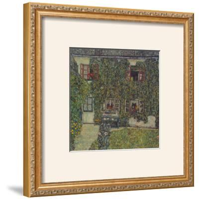 Forester's House in Waeissenbach at Attersee, 1912 by Gustav Klimt