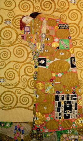 Fulfillment, Stoclet Frieze, c.1909 by Gustav Klimt