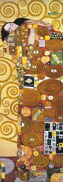 Fulfilment - Golden Metallic Ink by Gustav Klimt