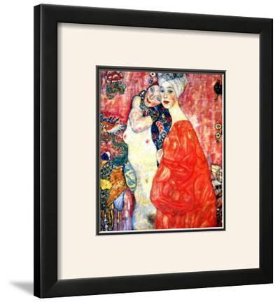 Girl Friends by Gustav Klimt