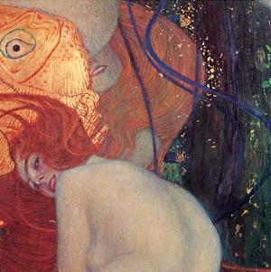 Goldfish (detail) by Gustav Klimt