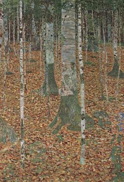 Gustav Klimt (Beech Trees) Art Poster Print by Gustav Klimt
