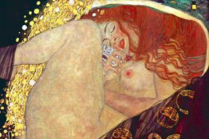 Gustav Klimt (Danae) by Gustav Klimt