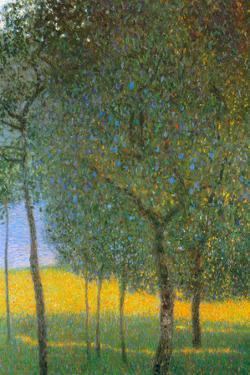 Gustav Klimt Fruit Trees by Gustav Klimt