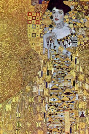 Gustav Klimt Portrait of Mrs Adele Bloch-Bauer 2 by Gustav Klimt