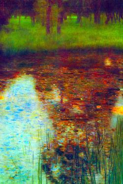 Gustav Klimt The Marsh by Gustav Klimt