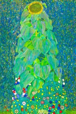 Gustav Klimt The Sunflower by Gustav Klimt